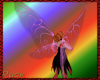 Crystal fae wings - pink