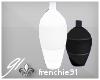 f. Vase Duo -Black White
