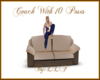Couch With 10 Poses