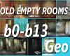 14 Old Empty Rooms BG's