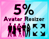 Avatar Scaler 5%