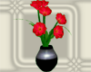 (IKY2) DECO  RED FLOWER