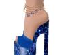 Blue Anklet
