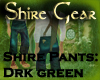 Shire Pants DrkGreen