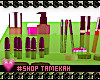 Make Up Storage Green