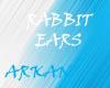 rabbit ears blue