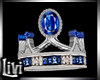 Queen Sapphire Wed Ring
