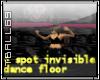 4 spot Invi. Dance floor