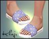 K! Slippers LV Pastel