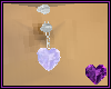 Diamond Heart Silver