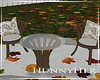 H. Fall Small Patio Table