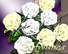 bridesmaids bouquet (wh)