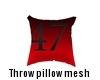 Throw Pillow Mesh