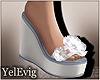 [Y] Nadia white sandals