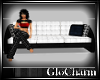 Glo* 3 SeatCouch ~ White
