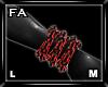 (FA)WristChainsOLML Red