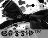 [G] Black bow..
