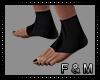 🔱 FOOT WRAPS BLK