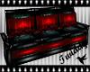 Dark Rouge Couch