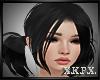 X K- Black Hair T
