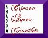 {SP} Crimson Armor Gaunt