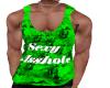 Lime/Black A$$hole Shirt
