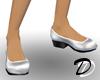 Economy Low heels (wht)