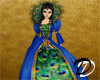 Royal Peacock gown
