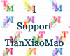 TXM Support Sticker