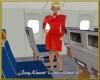 Aeroflot flight attendan