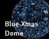 Blue Glitter Dome