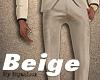 Beige Slim Pants