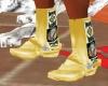 stivali indiani beige