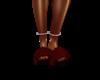Maroon Slippers