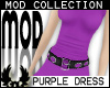 -cp Mod Purple Dress