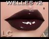 LC Welles Black Gloss