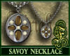 Savoy Necklace Brown