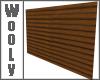 Thin wall wood