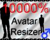 *M* Avatar Scaler 10000%