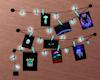Alien Neon Wall Hanging