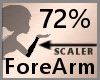 72% ForeArm Scaler F A