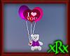 Love Balloons w/Teddy