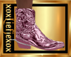 [L] Iced PINK Boots M