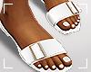 ṩUna Slippers White