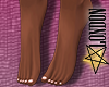 Feet: Soft Pink Pedicure