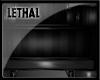 [LS] Dark Metal Chair.