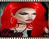 Red l Devil Tease Hair