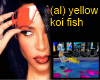 (al) Koi fish yellow