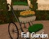 Fall Garden Flower Cart