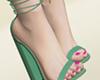 Spring Flower Heels